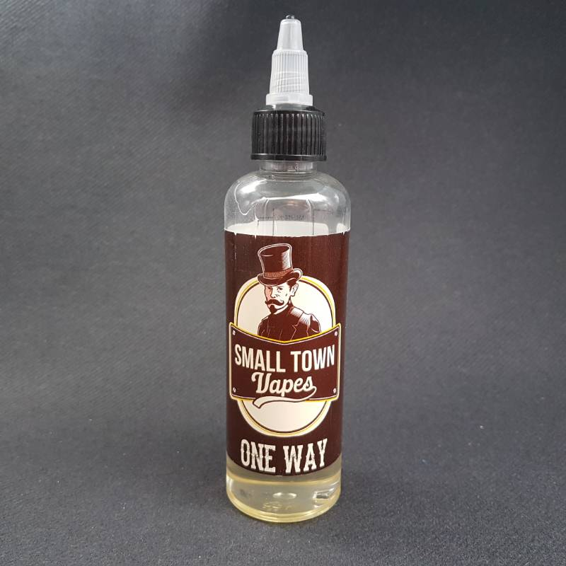 One Way 100ml 0mg - Small Town Vapes