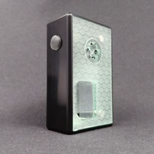 Octo 21700 Black Delrin Switch Clear - octo510 - Box Mod BF - Octopus Mods