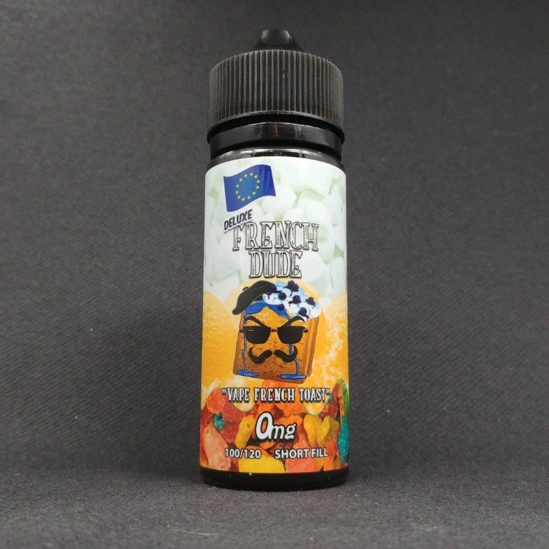 French Dude Deluxe 100ml 0mg - Vape Breakfast Classics