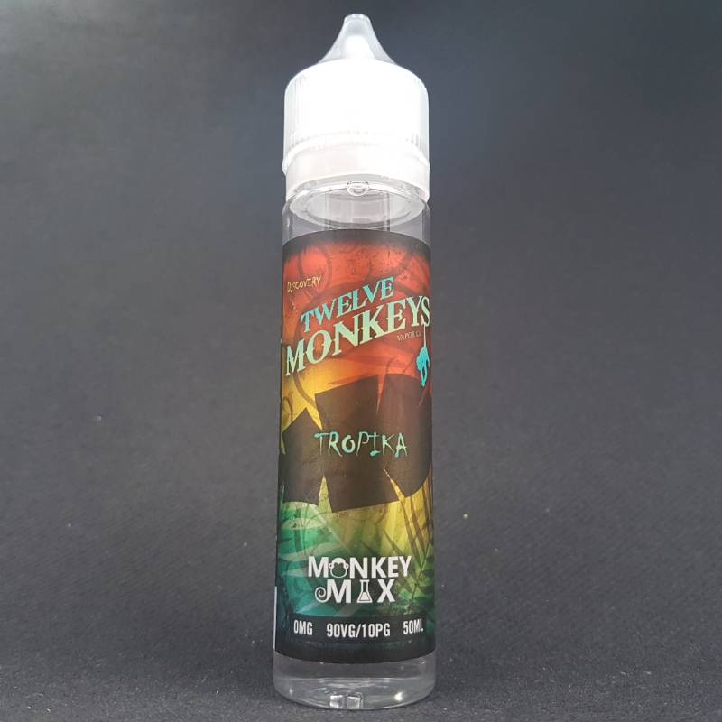 Tropika 50ml 0mg - Twelve Monkeys
