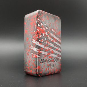 Squonk Box Mod V3 Edition America Blood Splatter - Armageddon MFG