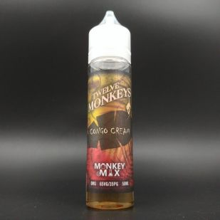 Congo Cream 50ml 0mg - Twelve Monkeys