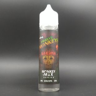 E-liquide Hakuna 50ml 0mg - Twelve Monkeys