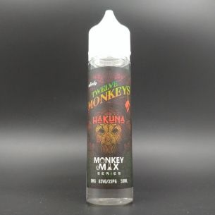Hakuna 50ml 0mg - Twelve Monkeys