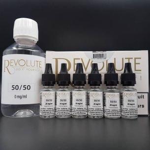 Base Pack TPD 200ml 6mg 50/50 - Revolute