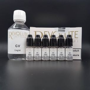 Base Pack TPD 200ml 6mg 100% VG - Revolute