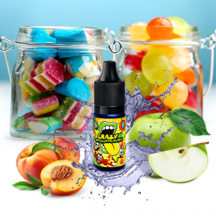 Crazy Apples & Peaches 10ml - Concentré Big Mouth