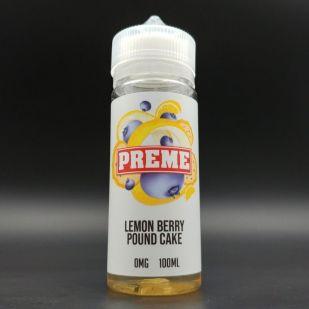 Lemon Berry Pound Cake 100ml 0mg - Preme Vapes