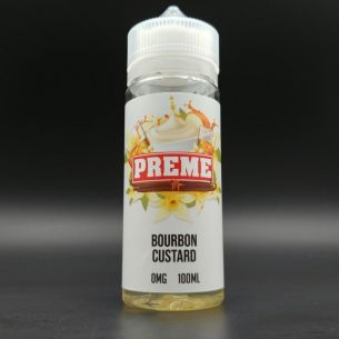 Bourbon Custard 100ml 0mg - Preme Vapes