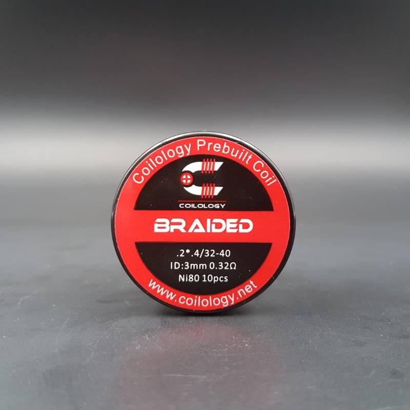 Braided Nichrome Préfaits x10 - Coilology