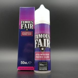 Strawberry Pound Cake 50ml 0mg - Famous Fair