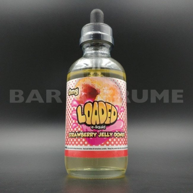 Strawberry Jelly Donuts 100ml 0mg - Loaded