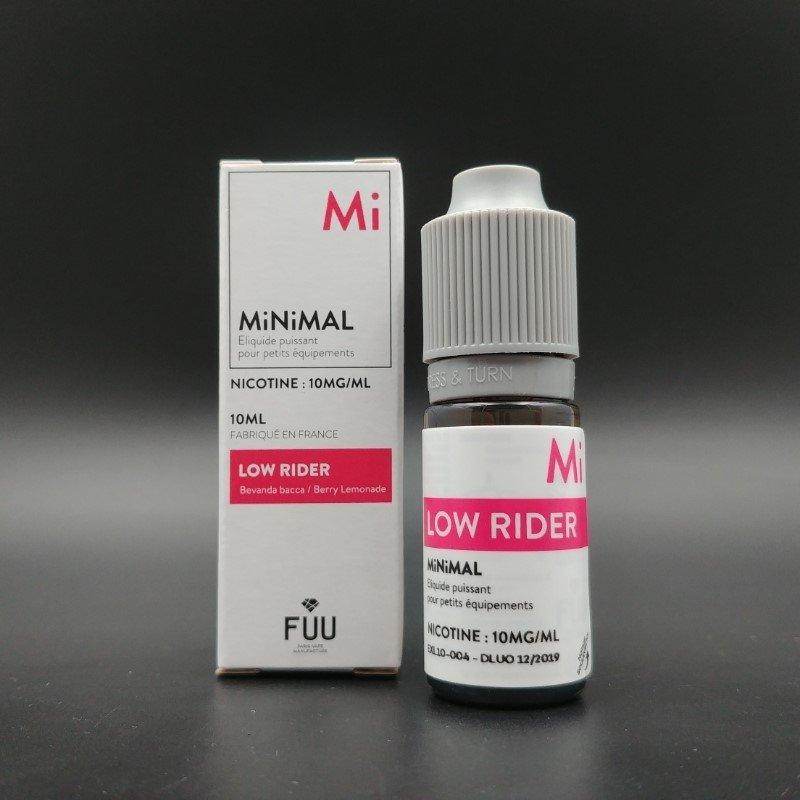 Low Rider 10ml - MiNiMAL (The Fuu)