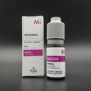 E-liquide Raisin 10ml - MiNiMAL (The Fuu)