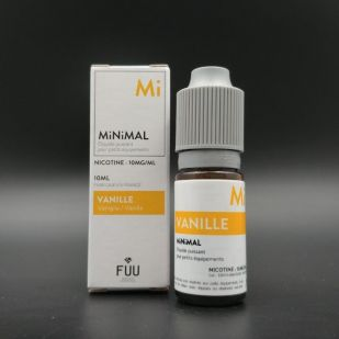 E-liquide Vanille 10ml - MiNiMAL (The Fuu)