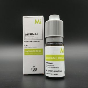 E-liquide Badiane Rouge 10ml - MiNiMAL (The Fuu)