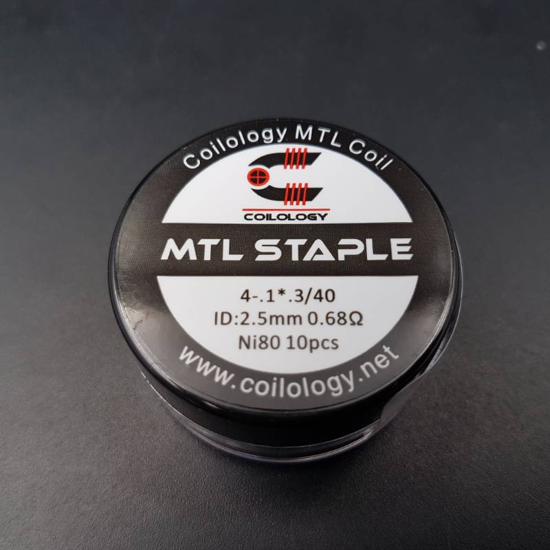 MTL Staple NI80 Préfait 2.5mm 0.68ohm - Coilology