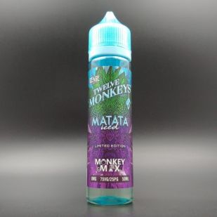 Matata Iced 50ml 0mg - Twelve Monkeys