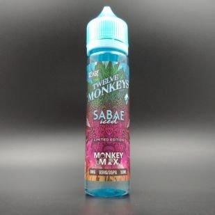 Sabae Iced 50ml 0mg - Twelve Monkeys