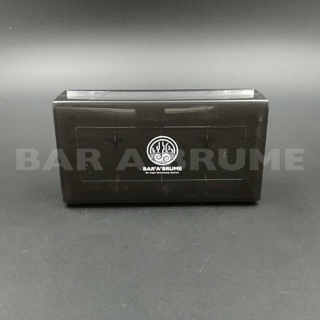 protection boitier accus 2x18650 noir bar a. Black Bedroom Furniture Sets. Home Design Ideas