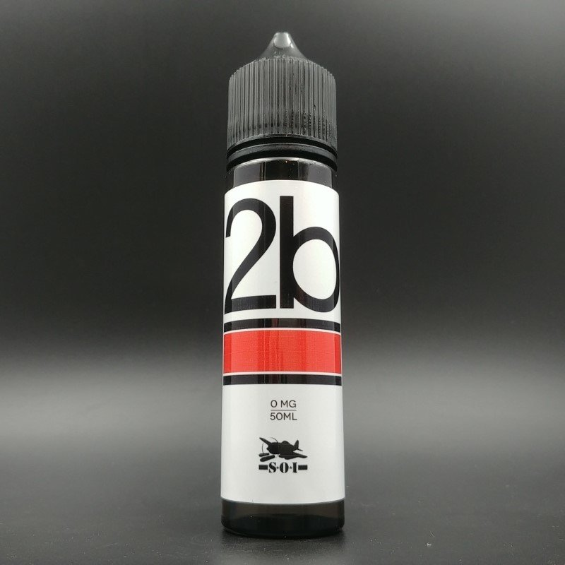 2b Red 50ml 0mg - Sub Ohm Invasion