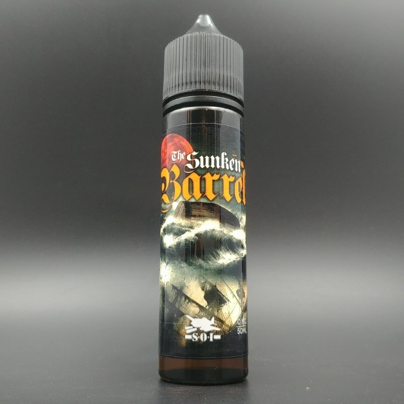 Sunken Barrel 50ml 0mg - Sub Ohm Invasion