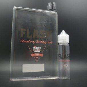 Strawberry Birthday Cake 420ml 0mg - Flask