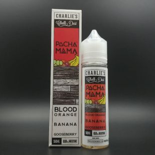 Blood Orange Banana Goosberrry 50ml 0mg - Pacha Mama