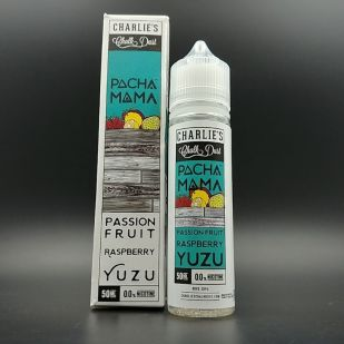 Passion Fruit Raspberry Yuzu 50ml 0mg - Pacha Mama