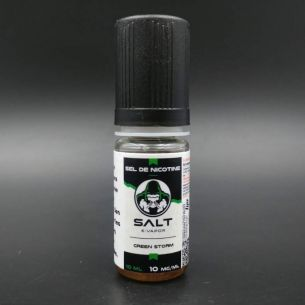 Green Storm 10ml - Salt E-Vapor (Le French Liquide)