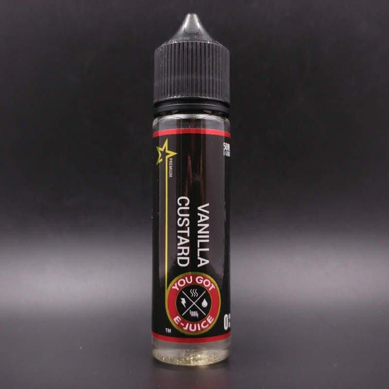 Vanilla Custard 50ml 0mg - You Got E-juice