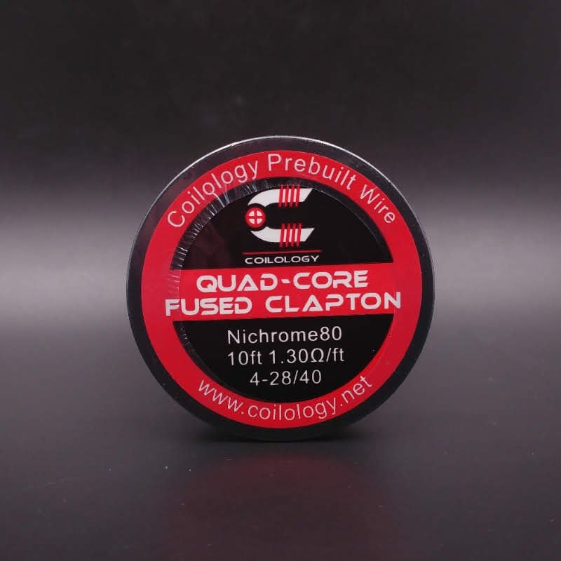 Quad-Core Fused Clapton Nichrome Bobine - Coilology
