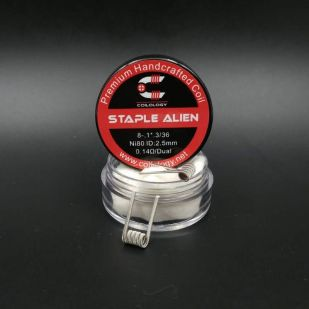 Staple Alien Nichrome Préfaits x2 - Coilology