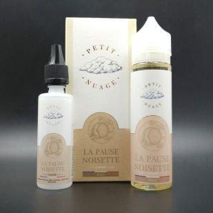 E-liquide La Pause Noisette 60ml 0mg - Petit Nuage