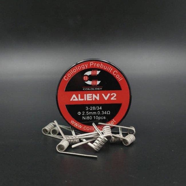 Alien V2 Nichrome Préfaits x10 -Coilology