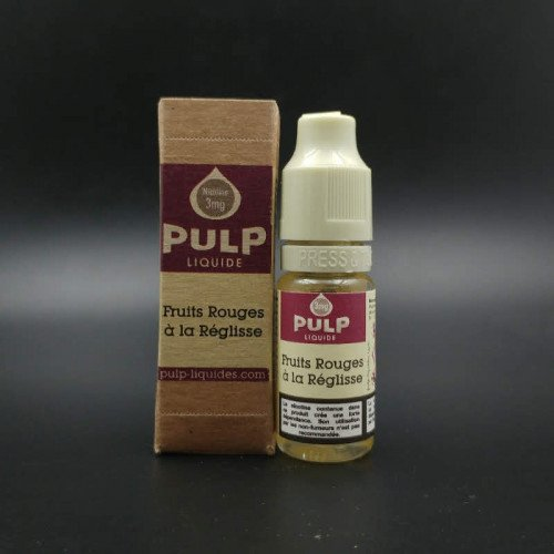 Fruits Rouges à La Réglisse 10ml - Pulp