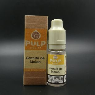 E-liquide Granité De Melon 10ml - Pulp