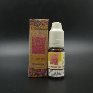 E-liquide Fat Lemon Cake 10ml - Fat Juice Factory, Pulp