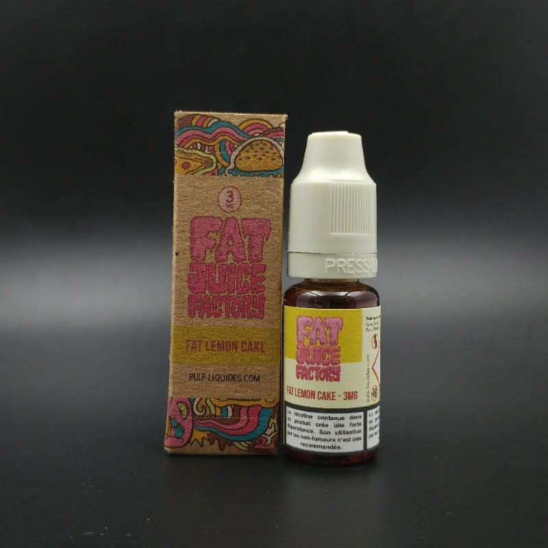 Fat Lemon Cake 10ml - Fat Juice Factory, Pulp