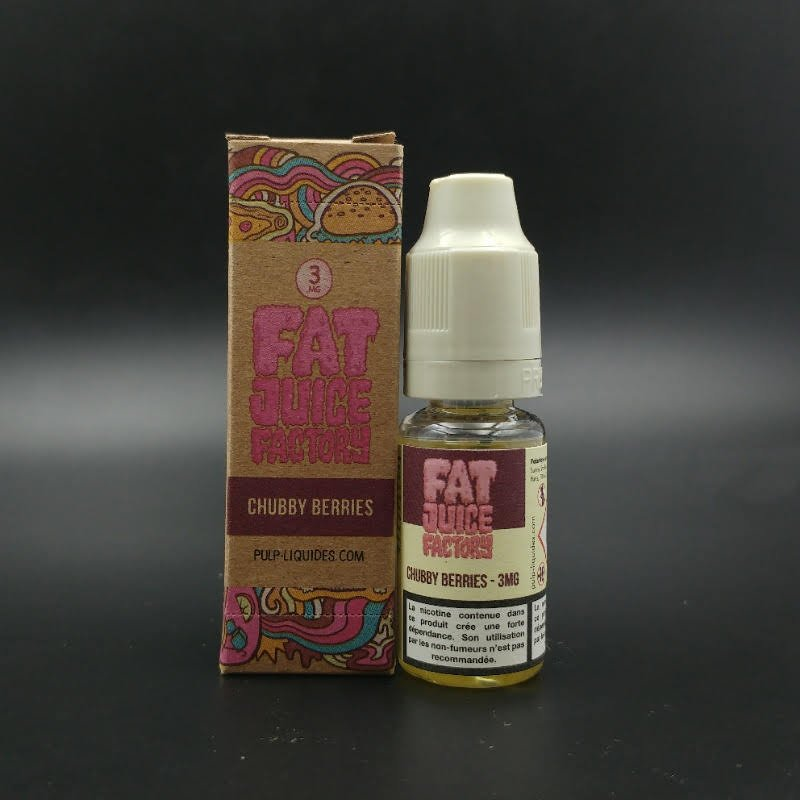 Chubby Berries 10ml - Fat Juice Factory, Pulp