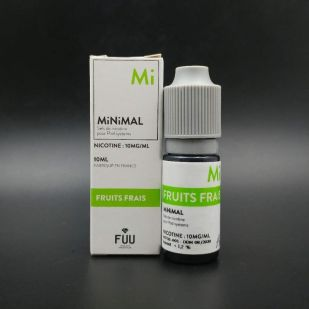 E-liquide Fruits Frais 10ml - MiNiMAL (The Fuu)