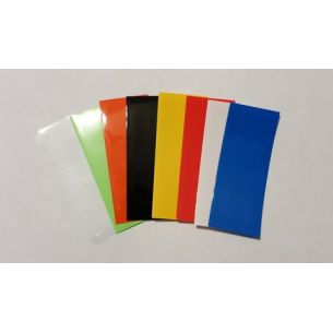 Pack 10 wraps accu 18650 couleur unie