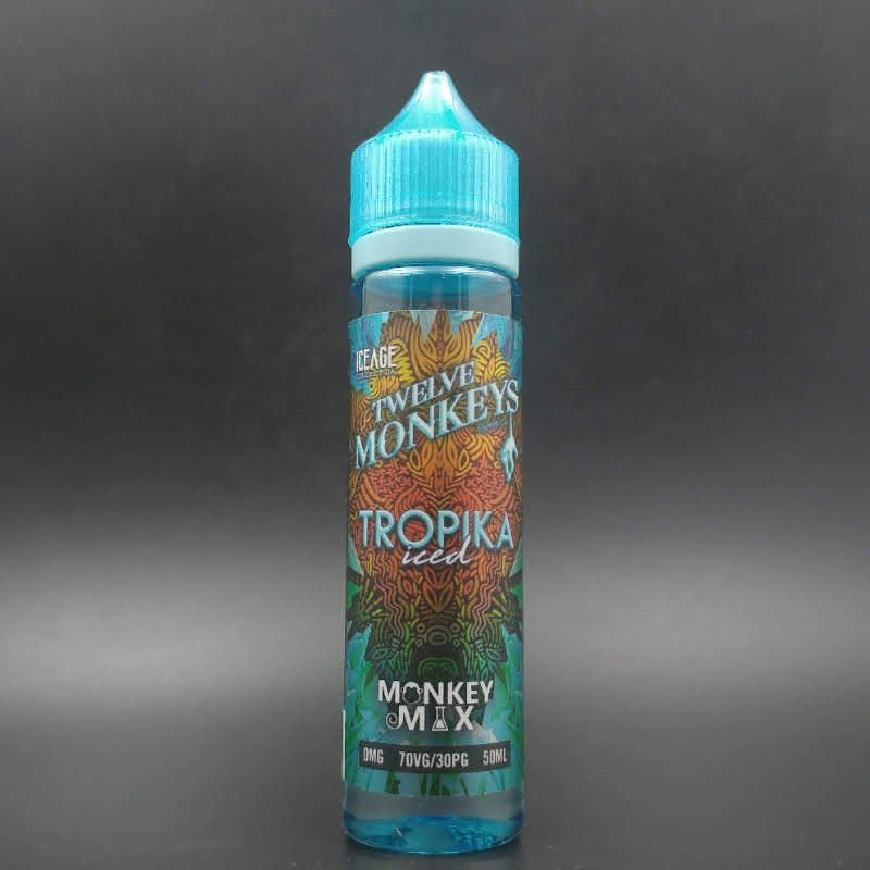 Tropika Iced 50ml 0mg - Twelve Monkeys