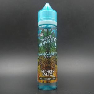Mangabeys Iced 50ml 0mg - Twelve Monkeys