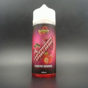 Pomegranate Strawberry 100ml 0mg - Flamingo