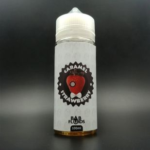 E-liquide Caramel Strawberry 100ml 0mg - BABFluids