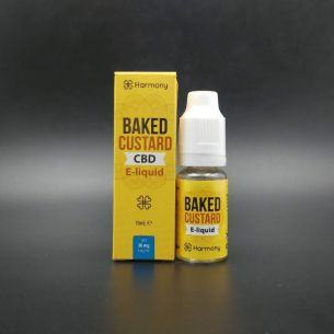Baked Custard 10ml 30-600mg CBD - Harmony