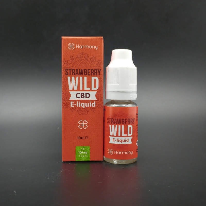 Wild Strawberry 10ml 30-600mg CBD - Harmony
