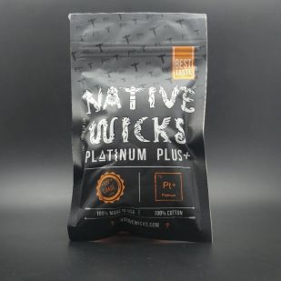 Coton Native Wicks Platinum Plus