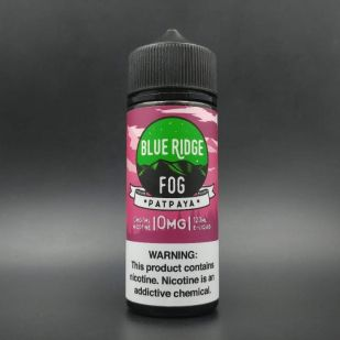 Patpaya 100ml 0mg - Blue Ridge Fog